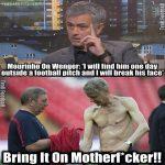 Jose Mourinho vs Arsene Wenger