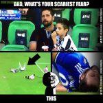 Juventus fans everytime Higuain falls down.
