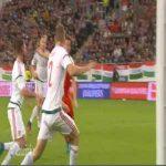 Valentin Stocker (Switzerland) goal against Hungary (2-3)