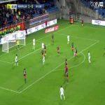 Alaeddine Yahia (Caen) goal against Montpellier (1-1)
