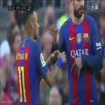 Neymar and Pique's weird confrontation