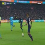 Edinson Cavani miss against Marseille