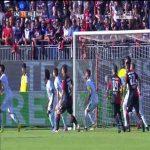 Marco Borriello gets a goal back for Cagliari vs Fiorentina (3-5)