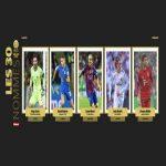 Next 5 nominees for the Ballon d'Or: Lloris, Mahrez, Messi, Modrić, Müller