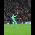 Galatasaray's keeper doesn't mess around