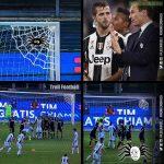 Chievo vs Juve in one pic.