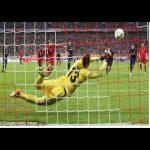 Calhanoglu's 41 meter free kick goal vs BVB No spin totally unpredictable!