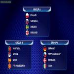 2017 U-21 Euro groups