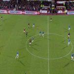Robbie Muirhead (Hearts) 2nd Goal v Rangers (2-0)
