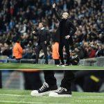 Pep Guardiola's shoe game = bizarre