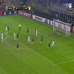 Juan Carrizo (Inter) penalty save against Sparta Praha