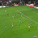 Muamer Tankovic (Alkmaar) goal against Zenit (3-1)