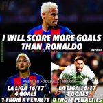 Oh Neymar ..