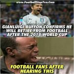 Gianluigi Buffon😔