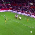 Sandro Ramirez (Malaga) goal against Sevilla (4-1)