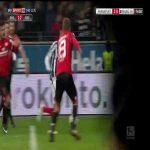 Aymen Barkok (18 years old) Dribbling Goal - Frankfurt/Mainz 2:0