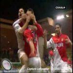 From 2006: Ludovic Giuly scissor kick (Monaco 1-0 Lens)