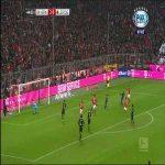 Lewandowski penalty goal vs RB Leipzig