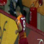 Eren Derdiyok goal Galatasaray 4 - 1 Alanyaspor (Sneijder second assist)