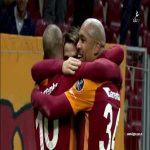 Josué Pesqueira goal Galatasaray 5 - 1 Alanyaspor (Sneijder third assist)