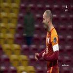 Wesley Sneijder goal Galatasaray 3 - 1 Alanyaspor