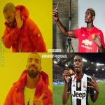 Pogba in Juventus>Pogba in Manchester United