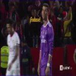 Ronaldo reaction to Sevilla winning goal