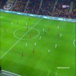 Bruma first goal Podolski assist Galatasaray 2 - 0 Akhisarspor