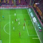 Bruma second goal Galatasaray 4 - 0 Akhisarspor