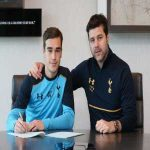 Harry Winks signs a new contract until 2022