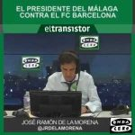 Onda Cero: Malaga's president Al Thani says they don't sell games & he has proof Barca offered money to beat Real Madrid.