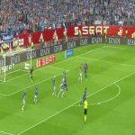 Jordi Alba's signature move