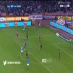 Candreva skill to get rid of two players.