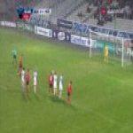 Auxerre 0-1 Les Herbiers - Kevin Rocheteau penalty