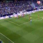 Málaga [1]-0 Valencia — Brown Ideye 27'