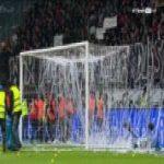 Eintracht Frankfurt Vs. RB Leipzig (Halftime protest)