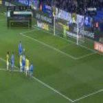 Diego Lopez (Espanyol) penalty save against Deportivo
