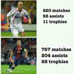 Zidane vs Xavi