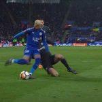 Mahrez elastico vs Chelsea