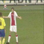 Jan Vertongen accidentally scores a goal from near halfway from a drop ball (2007)