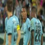 Gílson (Botafogo) great stoppage time goal vs. Grêmio ([2]-1) [Brasileirão Série A]