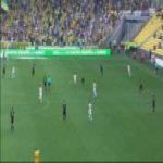 Nantes 0-1 Montpellier - Keagan Dolly chip