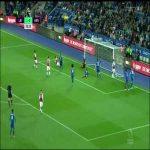 Leicester 1-[1] Arsenal: Aubameyang