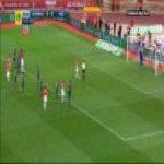 Monaco 1-0 Saint-Etienne - Fabinho penalty 90+1'
