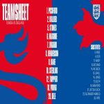 England Starting XI vs Tunisia