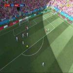 Cristiano Ronaldo goal (Portugal [1]-0 Morocco) 4'