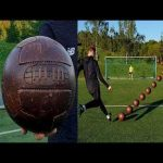 Interesting video of a 1920s-style football in use today - showing increased movement in the air