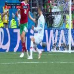 Ronaldo dive in the box vs Morocco