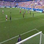 Eriksen Goal - Denmark 1 vs 0 Australia