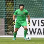 Petr Cech has put on a few kilograms of muscle...